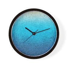 108872005 Sea Glass Wall Clock