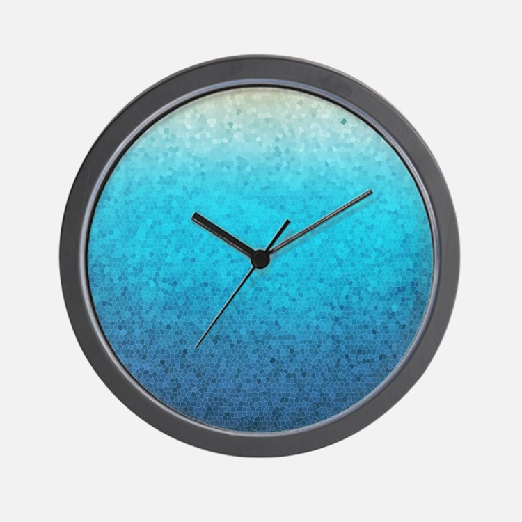 Sea Glass Clocks Sea Glass Wall Clocks Large Modern