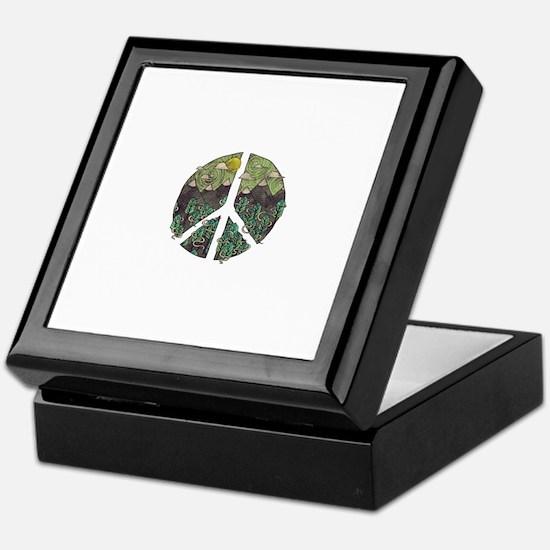 Mountain Peace Keepsake Box