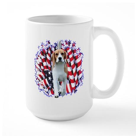 Beagle Patriot Large Mug