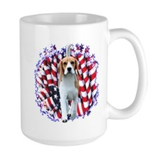 Beagle Patriot Mug