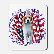 Beagle Patriot Mousepad
