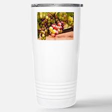 Grapes Stainless Steel Travel Mug