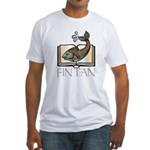 Fin Tan 2 Fitted T-Shirt