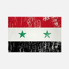Vintage Syria Rectangle Magnet