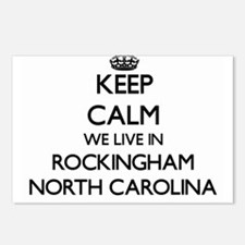 Keep calm we live in Rock Postcards (Package of 8)