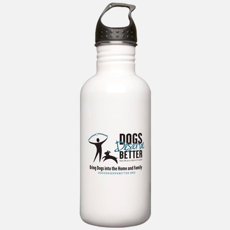 DDB Logo Art Water Bottle