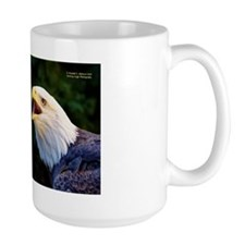 Talking Eagle (Left) - John 3:16 Mugs