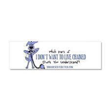 Don't Understand Car Magnet 10 X 3