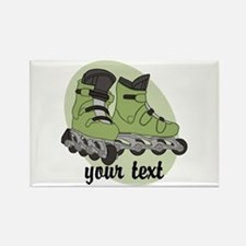 Personalized Rollerblade Magnets