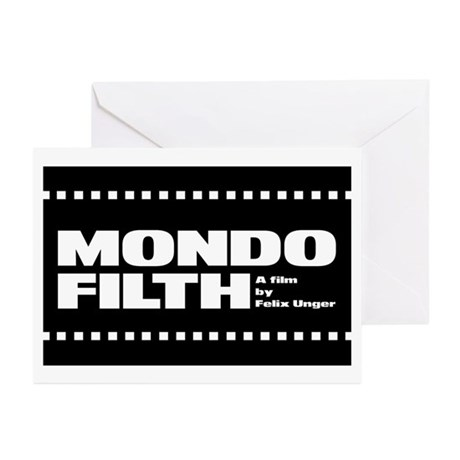MONDO FILTH - Greeting Cards (Pk of 10)