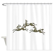 Copper Pony Shower Curtain