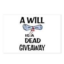 LAST WILL Postcards (Package of 8)