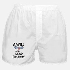 LAST WILL Boxer Shorts