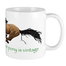 my other pony is vintage Mugs
