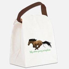 my other pony is topless Canvas Lunch Bag