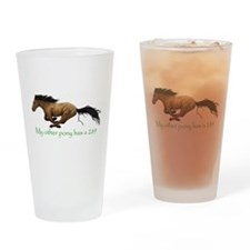 my other pony has a 289 Drinking Glass