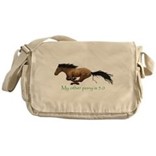 my other pony is 5.0 Messenger Bag