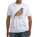 Bobwhite Cock Fitted T-Shirt