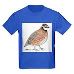 Bobwhite Cock Kids Dark T-Shirt