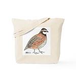 Bobwhite Cock Tote Bag