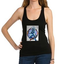 Oni Blue Racerback Tank Top