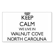 Keep calm we live in Walnut Cove North Car Decal