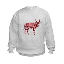 Bongo tile mural shop #1 Sweatshirt