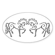 Celtic Horses Decal