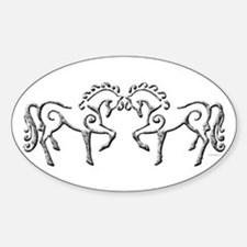 Celtic Horses Decal