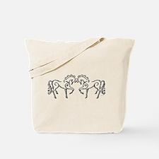 Celtic Horses Tote Bag