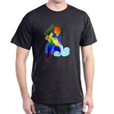 """Rainbow Aquarius"" T-Shirt"
