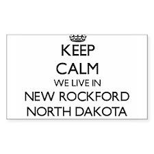 Keep calm we live in New Rockford North Da Decal