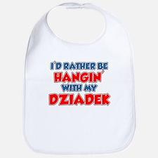 Rather Be With Dziadek Bib