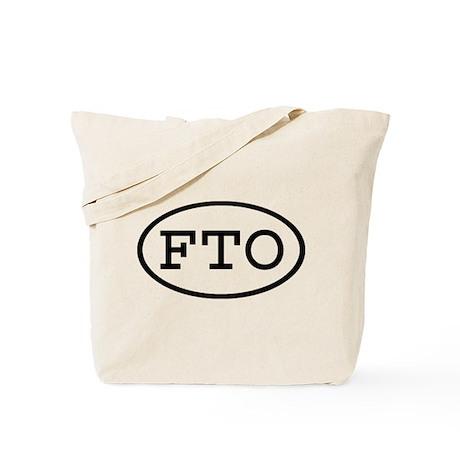 FTO Oval Tote Bag