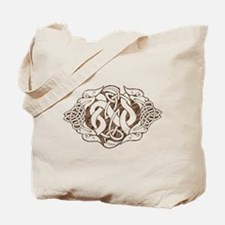 Stone Celtic Knot Dogs (T).png Tote Bag