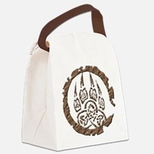 Stone Paw (T).png Canvas Lunch Bag