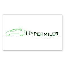 Hypermiler Rectangle Decal