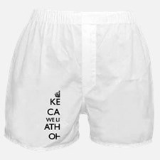 Keep calm we live in Athens Ohio Boxer Shorts