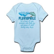 Pluviophile Infant Bodysuit