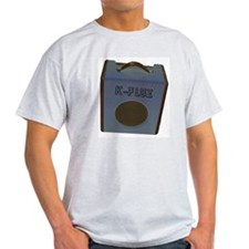 """k-flux """"amped"""" t-shirt (grey)"""
