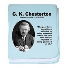 Chesterton Inequality baby blanket