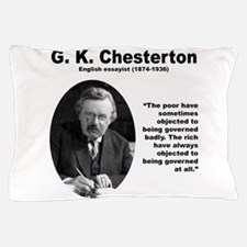 Chesterton Inequality Pillow Case
