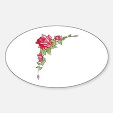 ROSES CORNER BORDER Decal