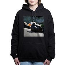 Tufted Puffins Women's Hooded Sweatshirt