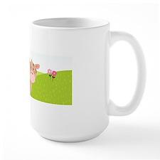 Cow and Barn, Farm Theme Kid's Mugs