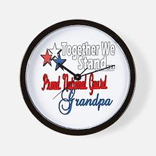 National Guard Grandpa Wall Clock