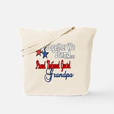 National Guard Grandpa Tote Bag