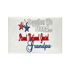 National Guard Grandpa Rectangle Magnet