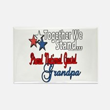 National Guard Grandpa Rectangle Magnet